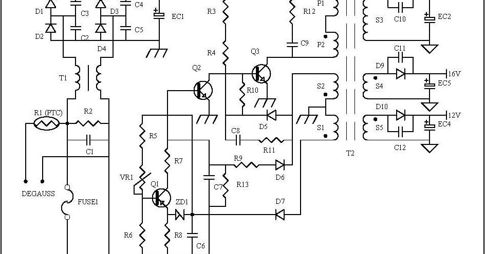 protectors circuit on smps power supply
