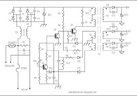 Switching power suplly for color television circuit - Electronic Circuit