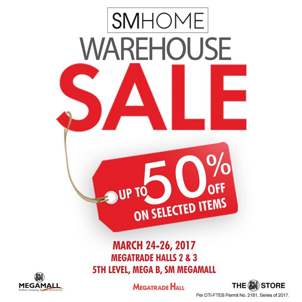 Manila Shopper Sm Homeworld Warehouse Sale At Sm Megatrade March  # Muebles Megamall