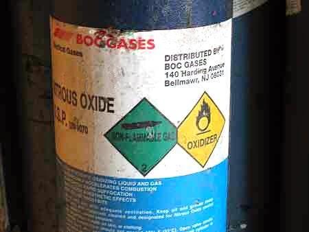 cilindro de oxido nitroso