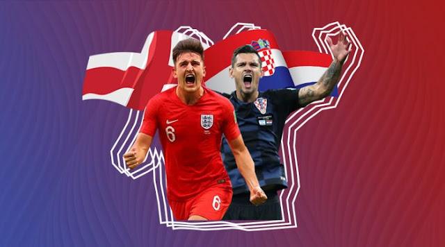 التشكيل المتوقع لمباراة إنجلترا وكرواتيا اليوم في كأس العالم 2018