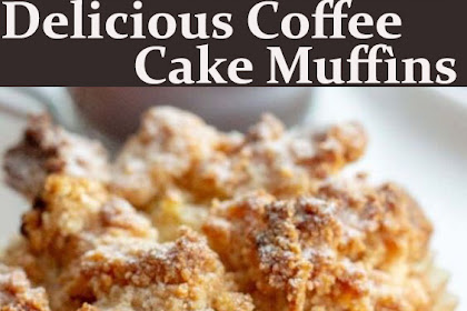 Delicious Coffee Cake Muffìns
