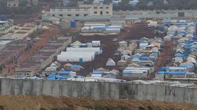 Bom Sasar Kamp Pengungsi Suriah di Rakban, Turki Kerahkan Pesawat Tempur ke Kota Al-Bab