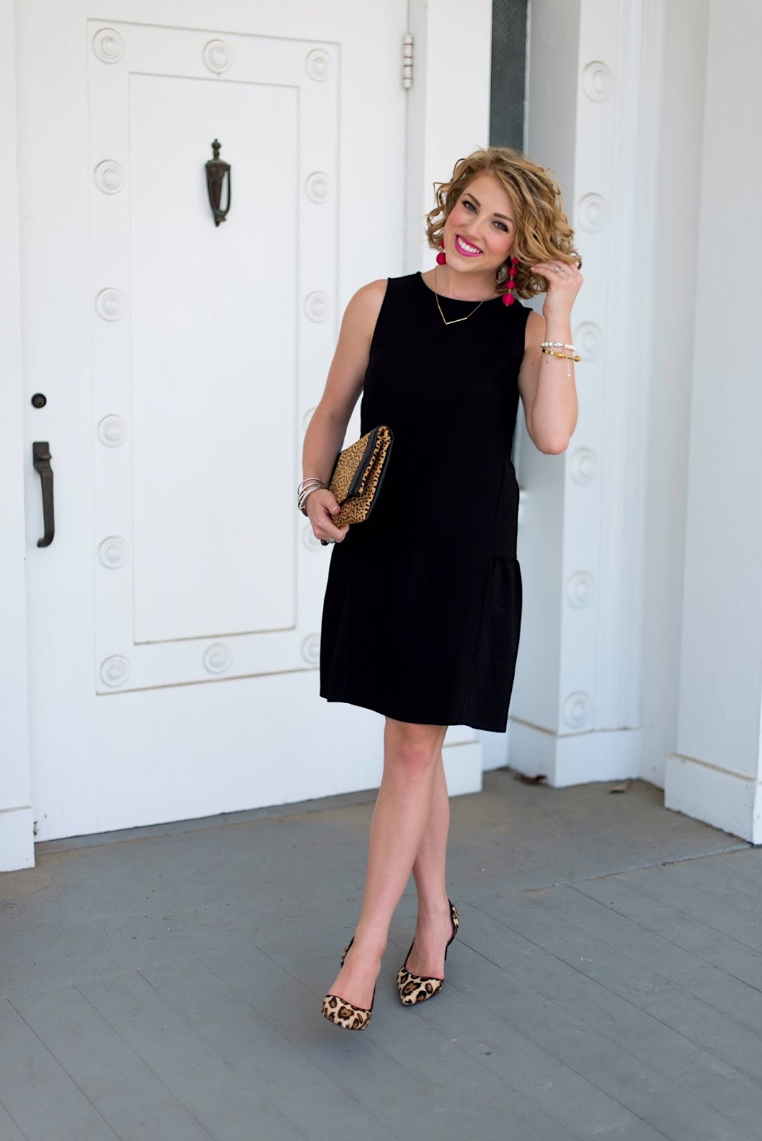How to style a LBD (little black dress) - Click through to see the full look on Something Delightful Blog!