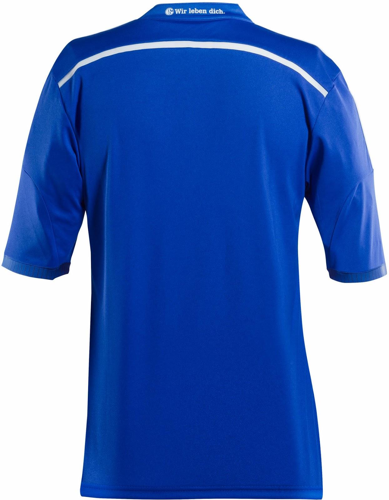 Schalke 04 14-15 Home Kit Released