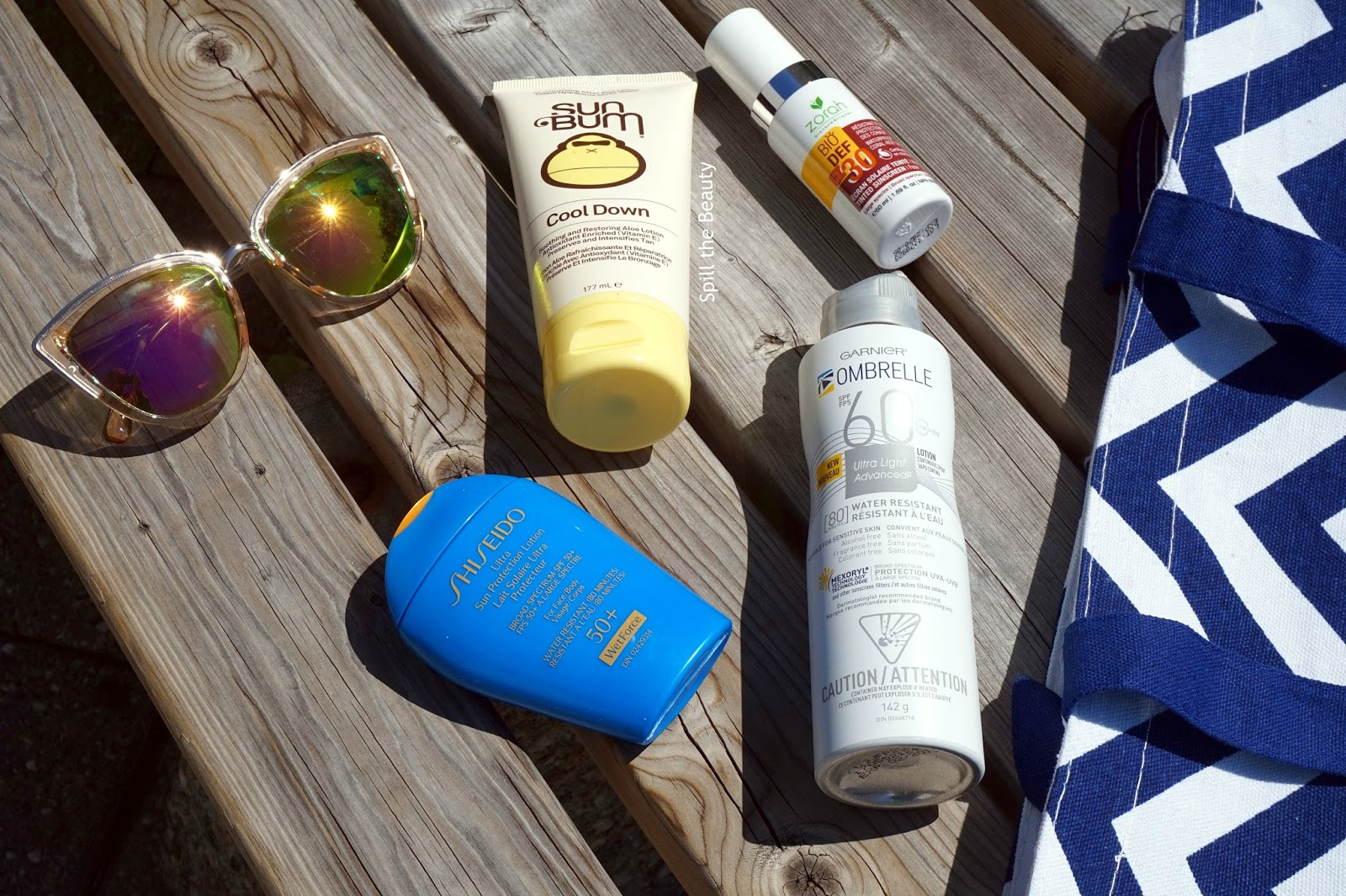 sunscreen roundup sun bum shiseido garnier ombrelle zorah