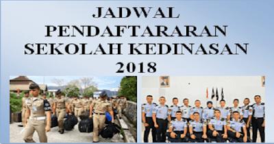 JADWAL PENDAFTARARAN SEKOLAH KEDINASAN 2018