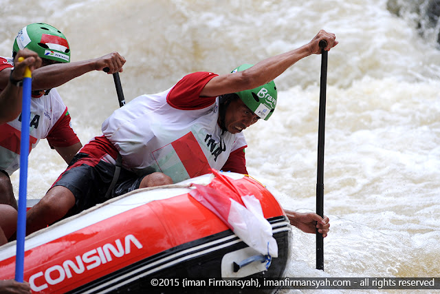 Photo- photo  Open & Master  Slalom  World Rafting  Championship  2015