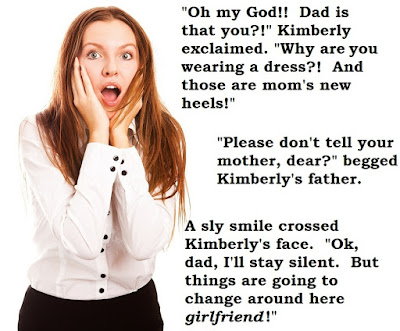 Things are going to change around here - Sissy TG Caption