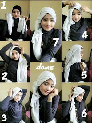hijab paris untuk pesta