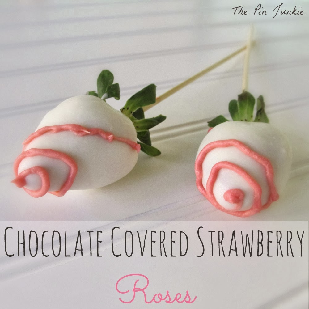Chocolate Covered Strawberry Roses