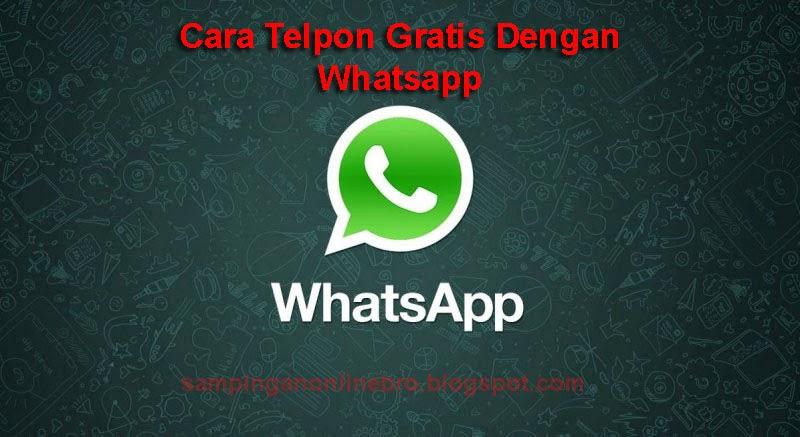 Cara Mengaktifkan Fitur Voice Call Whatsapp Di Android Untuk Telpon Gratis
