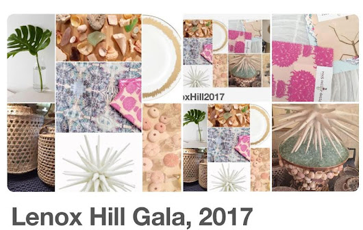 Find root cellar designs at two design, philanthropic events-- Lenox Hill gala and Design On A Dime!