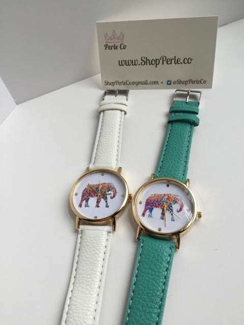 elephant watch, Jordan, Young Entrepreneur at ShopPerle.Co
