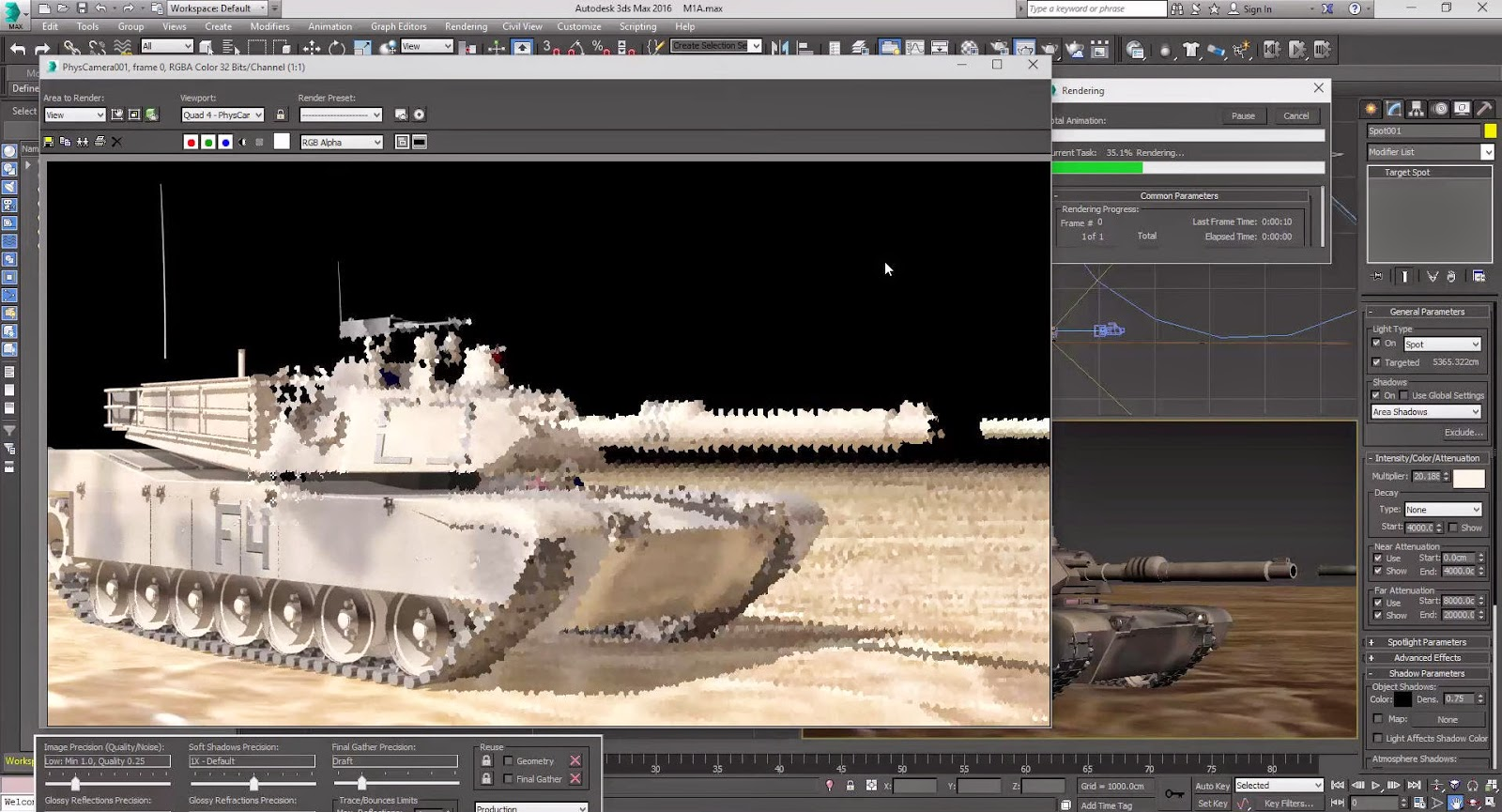 New physical camera in Autodesk 3ds Max 2016 | Computer Graphics