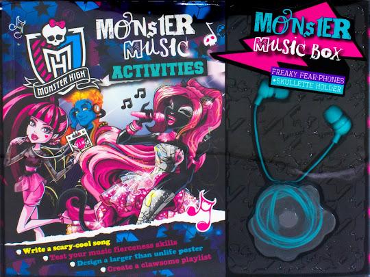 MH Monster High Monster Music Media