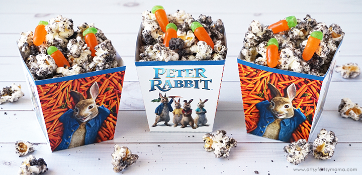 Peter Rabbit Movie Night with Free Printables