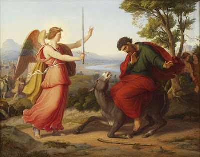 Balaam and the angel