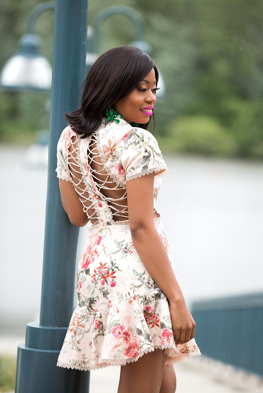 Zimmermann Mercer Flutter Dress, floral dress, www.jadore-fashion.com