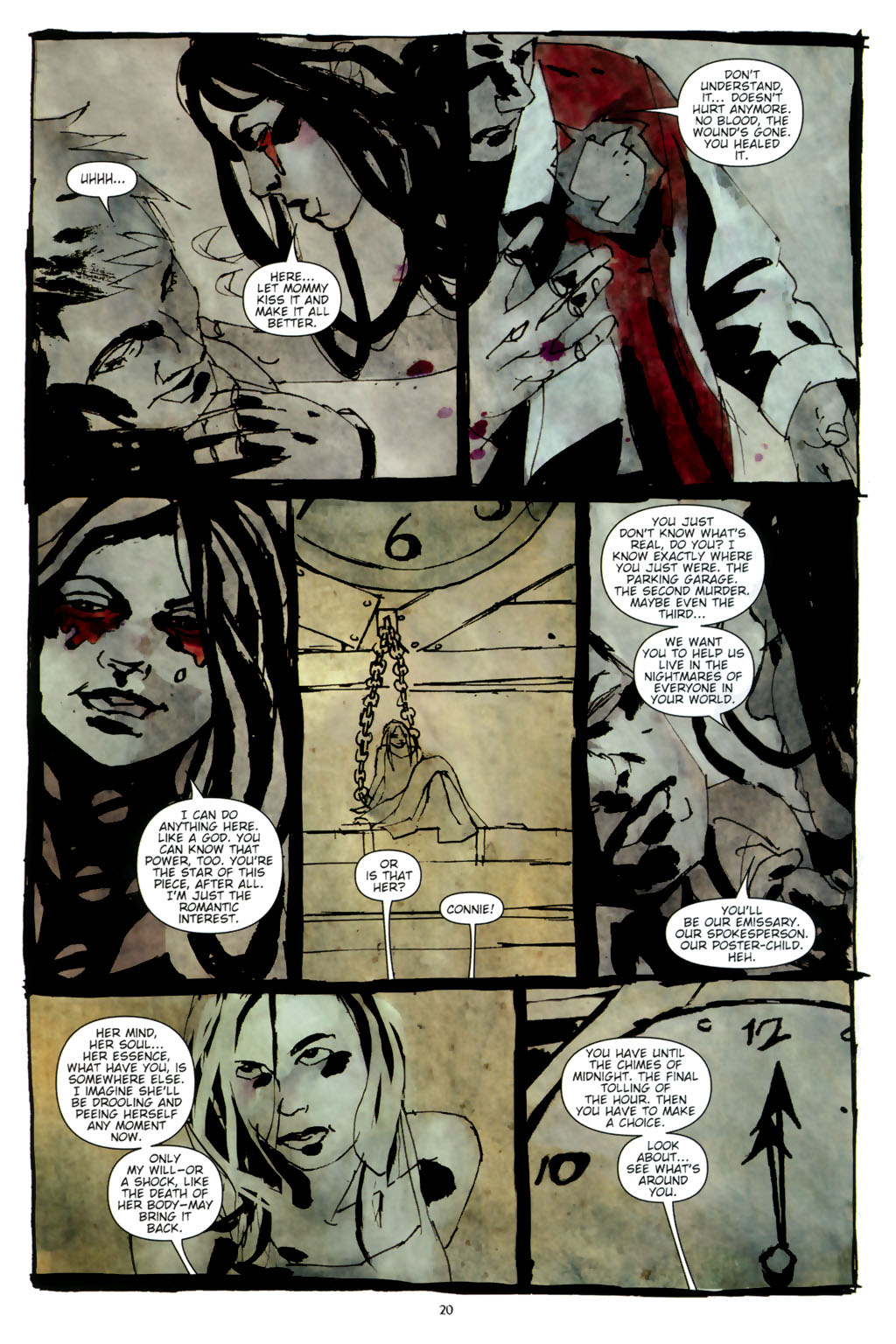 Read online Silent Hill: Dead/Alive comic -  Issue #3 - 22