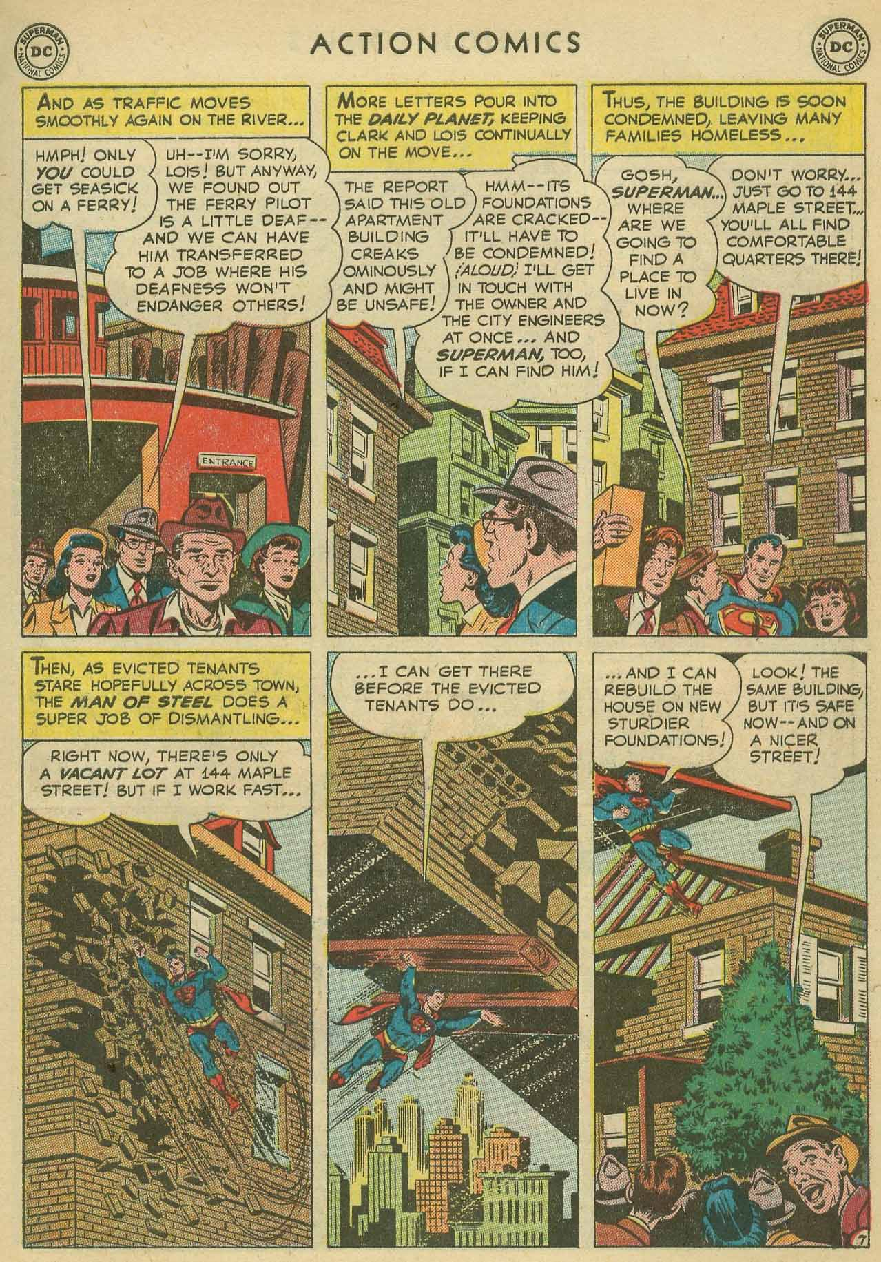 Action Comics (1938) 160 Page 8