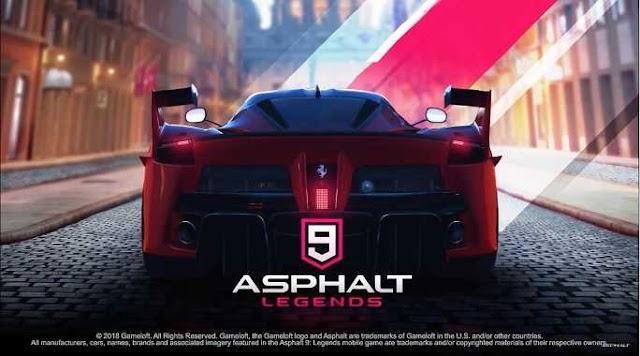 Asphalt 9: Legends v1.2.4a Apk Mod+Data [Licença Removida]