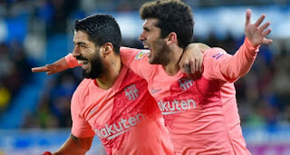 برشلونة يقترب من حسم الليغا بإنتصار جديد خارج الديار