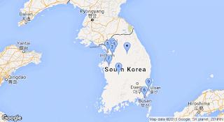 adresse IP Corée du Sud