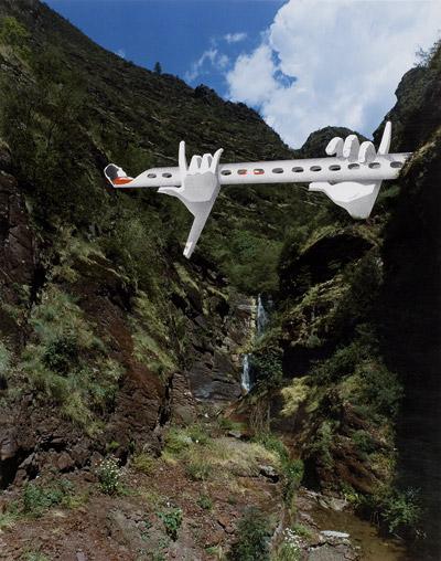 Projet  pont flûte, vallée du Cians, 1990, Guy Rottier