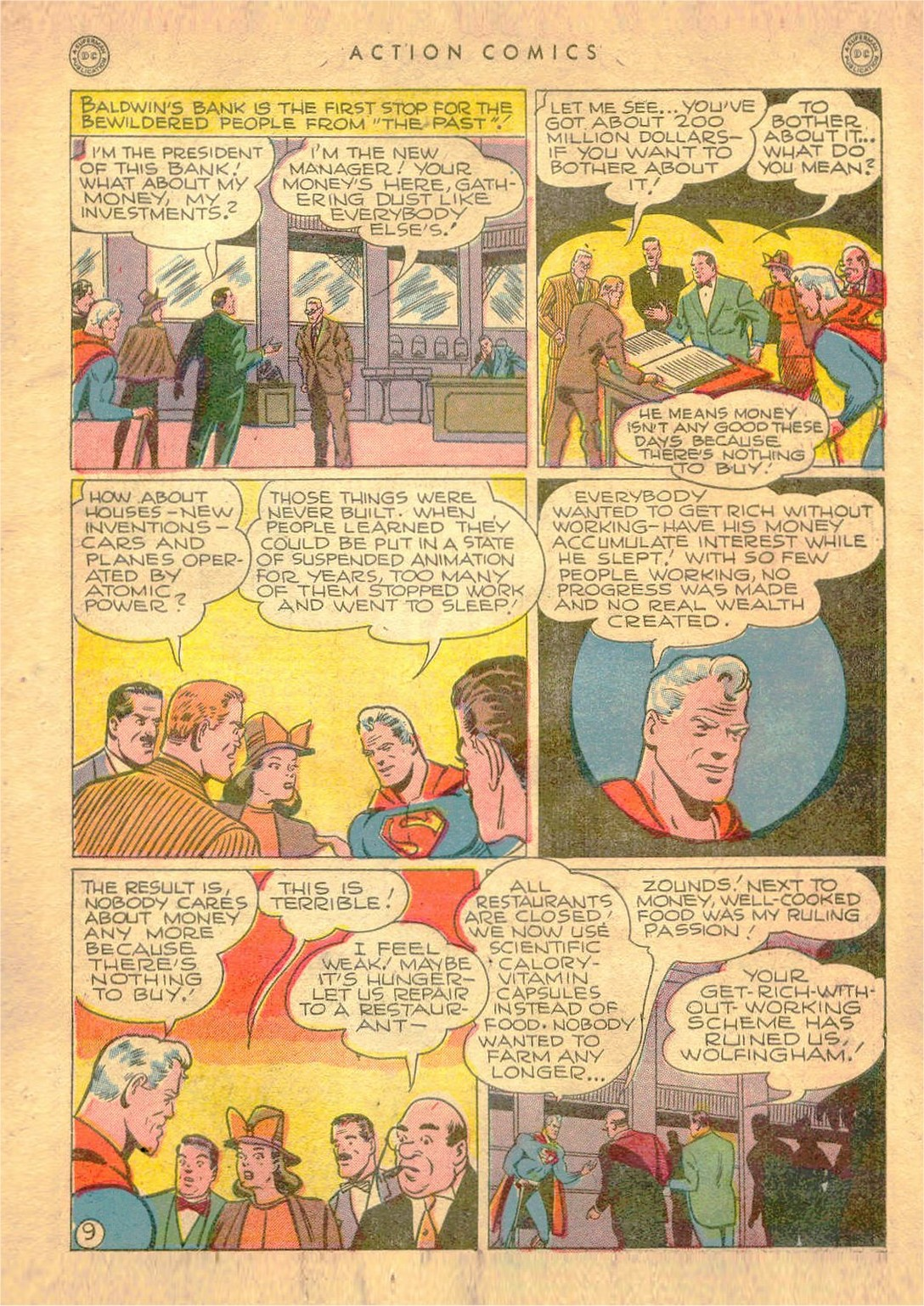 Read online Action Comics (1938) comic -  Issue #107 - 10