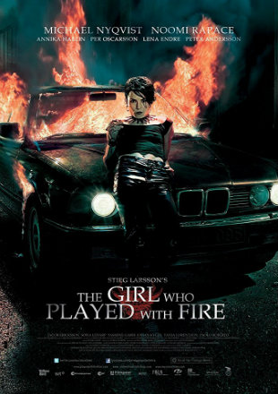 The Girl Who Played With Fire 2009 UNRATED BluRay 800MB Hindi Dual Audio 720p