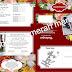 Contoh Desain Undangan Pernikahan Full Colour Merah Marun (CDR) | desain grafis gratis