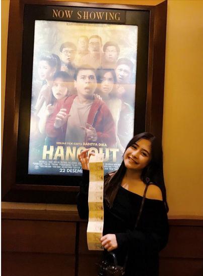 Film Hangout dan Prilly Latuconsina