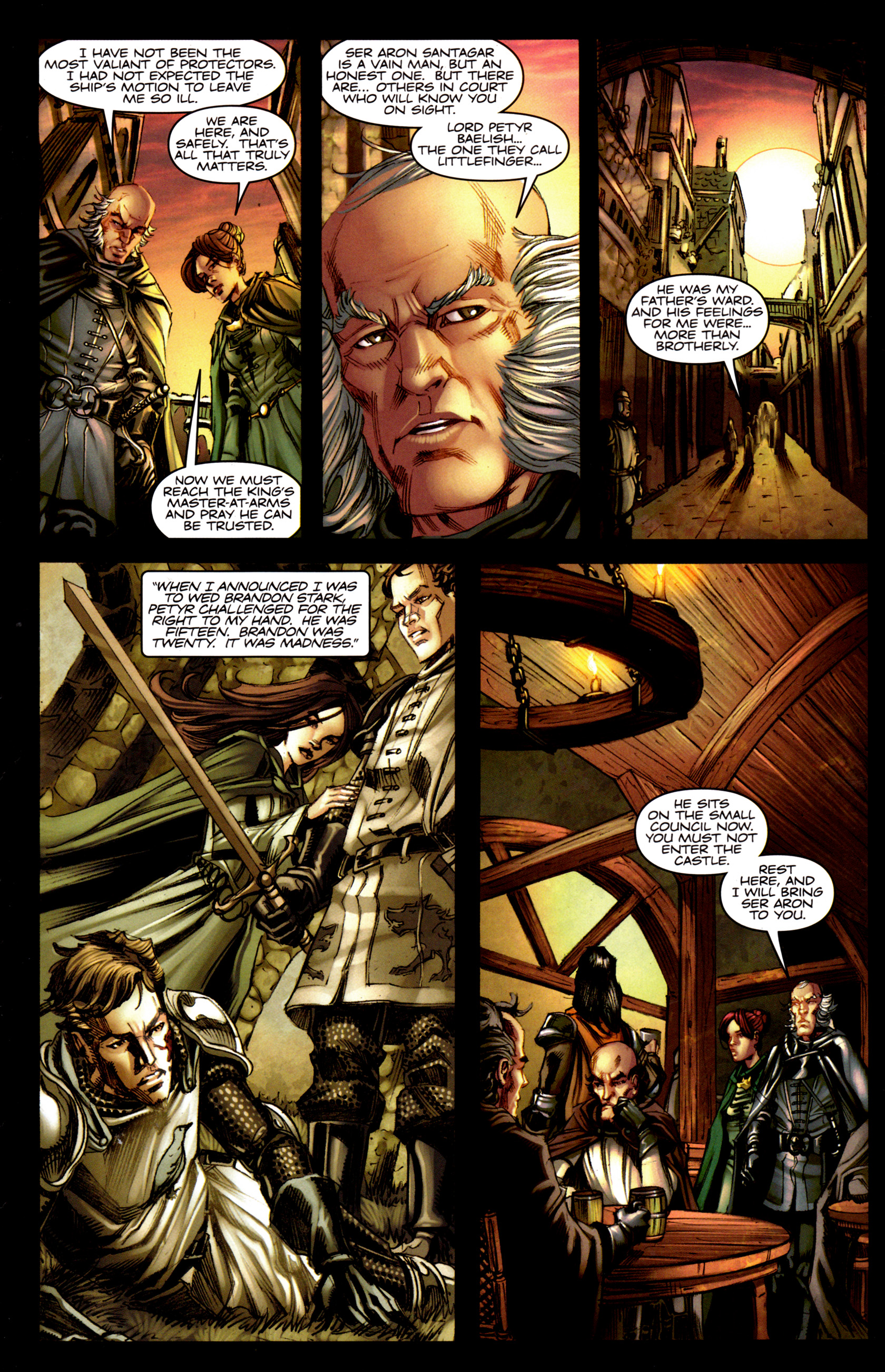 Read online A Game Of Thrones comic -  Issue #5 - 14
