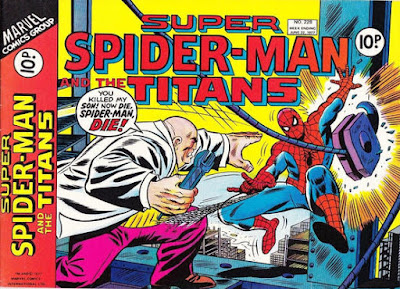 Super Spider-Man and the Titans #228, the Kingpin