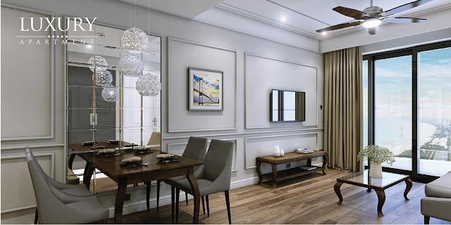 Căn hộ Luxyry Apartment view biển đẳng cấp 5* kề căn hộ Condotel Wyndham Soleil Đà Nẵng