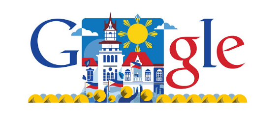 Google Doodle 2013 Philippine Independence Day