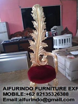 indonesia furniture,Interior Classic Chair furniture sell Classic French chair Furniture,Aifurindo sell Classic chair Furniture and Antique reproduction chair Mahogany,CODE  45