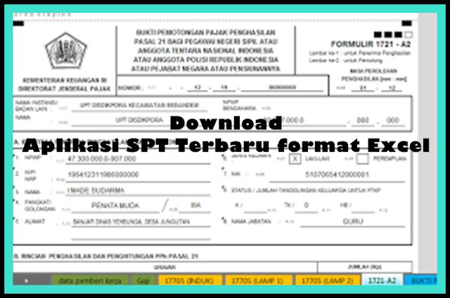 Aplikasi SPT Terbaru Versi 2017//2018