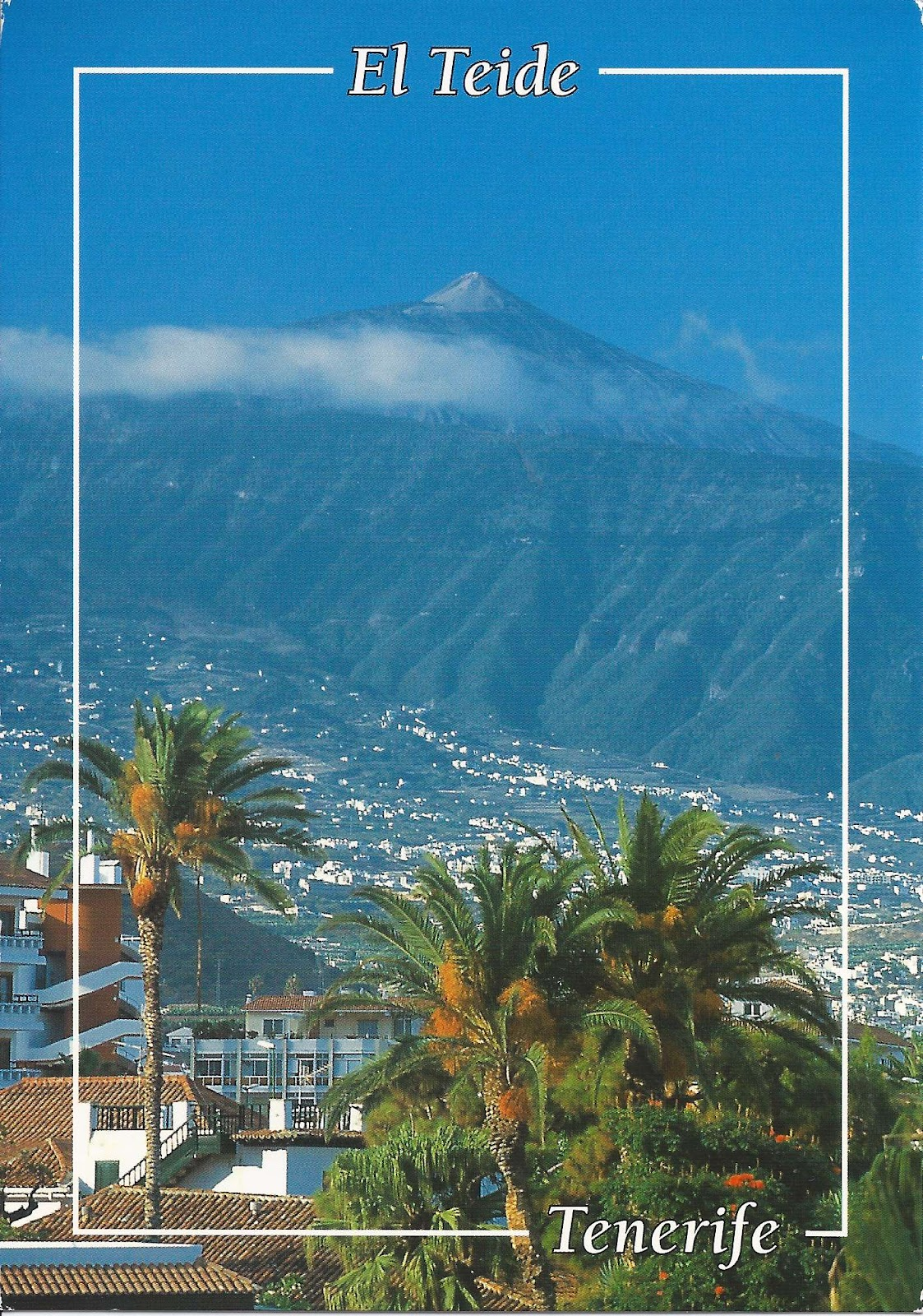 A Journey Of Postcards: A Postcard From The Canary Islands