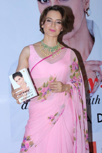 Kangana Ranaut Stills At Book Seventy Launch