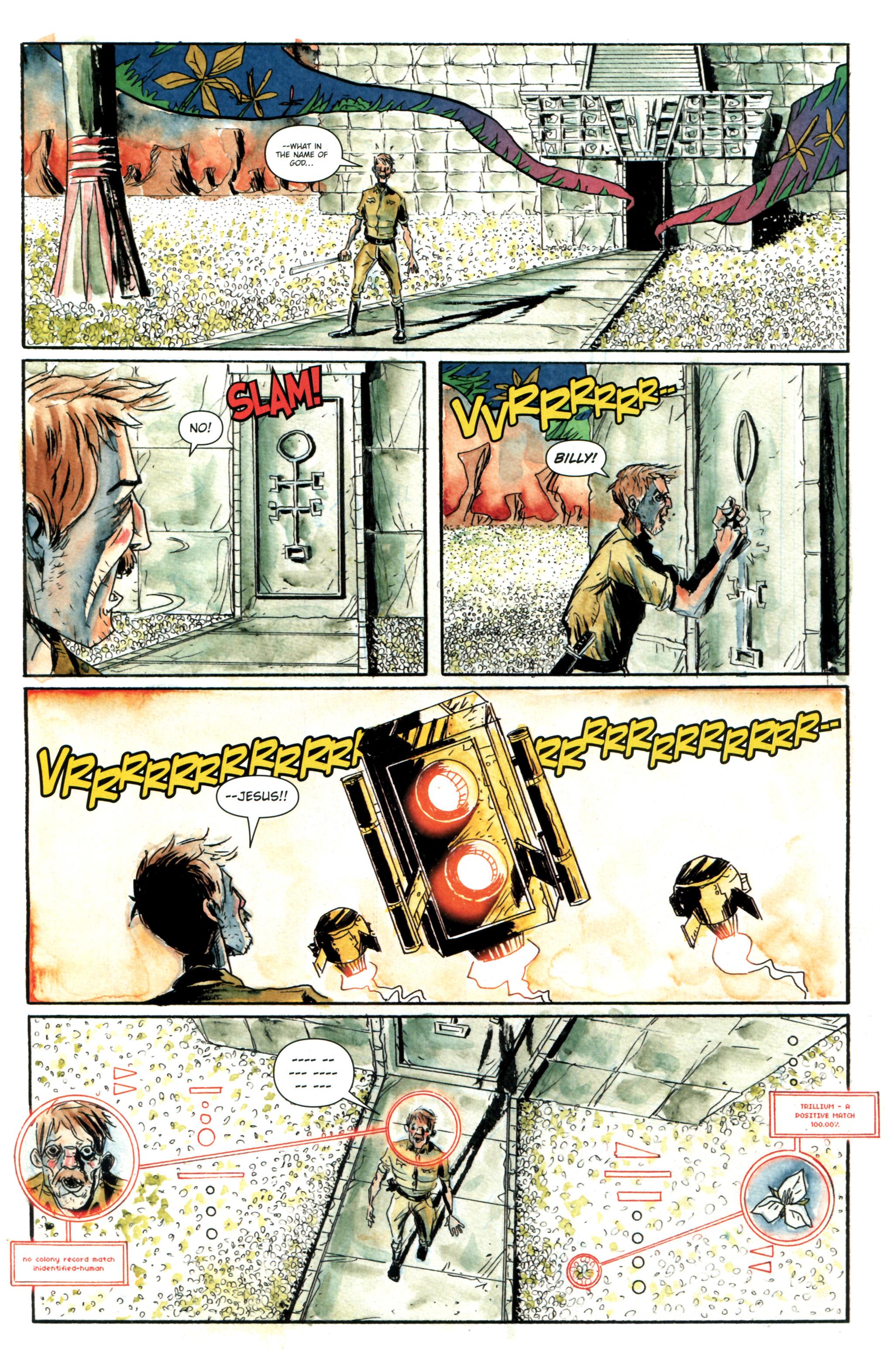 Read online Trillium comic -  Issue #4 - 4