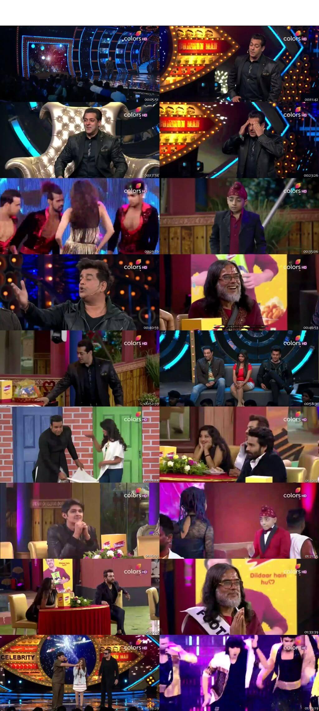 Screenshots Of Hindi Show Bigg Boss 10 31st December 2016 Episode 77 300MB 480P HD