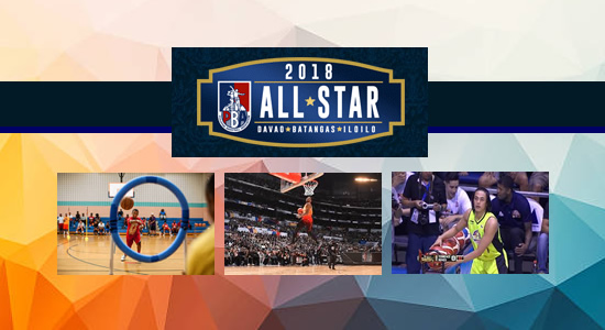 List of Winners 2018 PBA All-Star Slam Dunk, 3-point Shootout & Obstacle Challenge