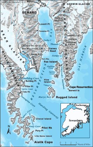 Fox Island Alaska Map.The Revolt And The Revolting Seward Alaska Is At The Head Of The