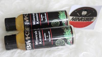 Black Magic Kemiri Shampoo - Minyak Penumbuh dan Penutrisi Rambut