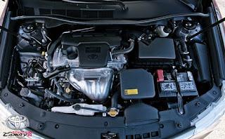 2016 vs 2017 Toyota Camry LE Design Engine