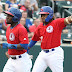 Despite Davis' record hit streak, Bisons fall to Pawtucket, 8-5