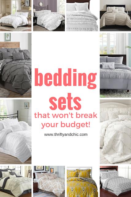 伟大的网站,找到可爱和廉价的床上用品套装