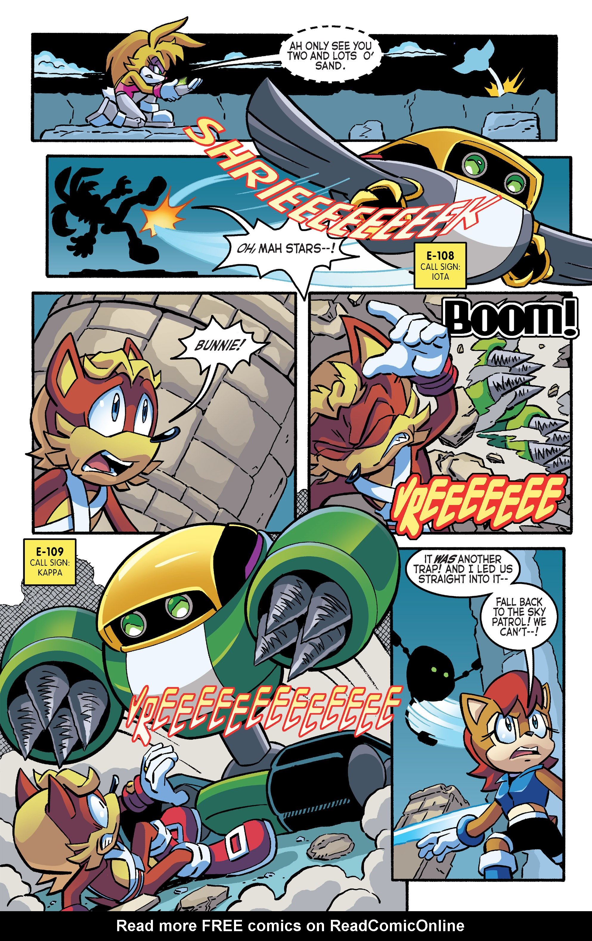 Read online Sonic The Hedgehog comic -  Issue #266 - 21